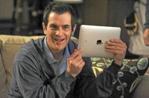 Apple iPad, Modern Family