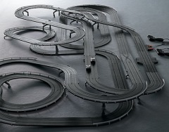 Giant Slot Car Track